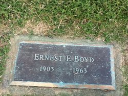 Ernest Elvington Boyd