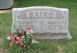Archie Delbert Bert Baird