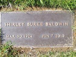 Shirley June <i>Burke</i> Baldwin