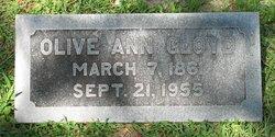 Olive Ann <i>Pickett Coate</i> Gloyd