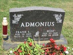 Frank L. Admonius, Sr