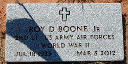 Roy D. Boone, Jr