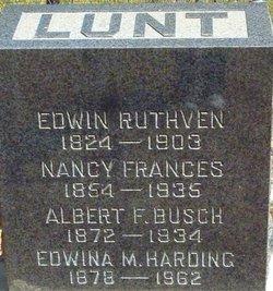 Nancy Frances Fanny <i>Smith Busch</i> Lunt