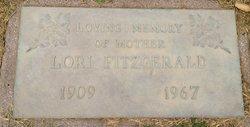 Lorie Marjorie <i>Ricke</i> Fitzgerald