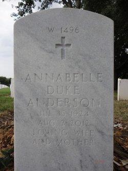 Annabelle Duke Anderson