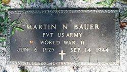 Pvt Martin N. Bauer