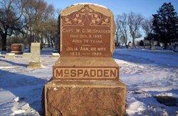 William George McSpadden, II