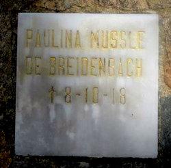 Paulina <i>Mussle</i> Breidenbach
