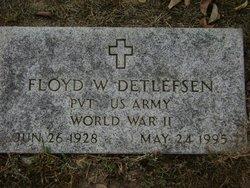 Floyd W Detlefsen