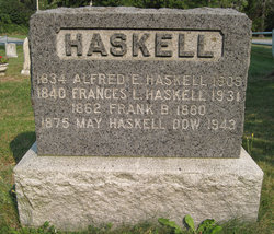 Alfred E Haskell