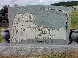 Carolyn Pressnell <i>Dotson</i> Allen