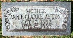 Annie <i>Clarke</i> Ayton