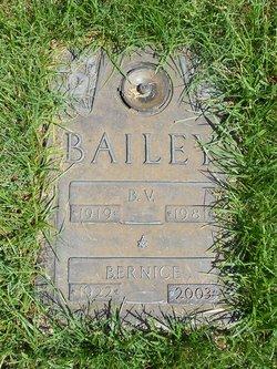 B.V Bailey