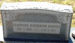 Eleonore Katherine Barnes