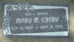 Mary M. Cosby