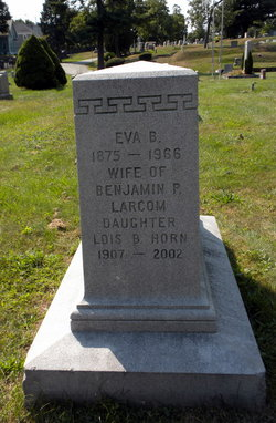 Eva Bell <i>Murray</i> Larcom