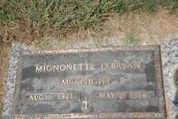 Mignonette <i>O'Bryan</i> McKnight