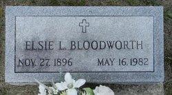 Elsie L <i>Cole</i> Bloodworth