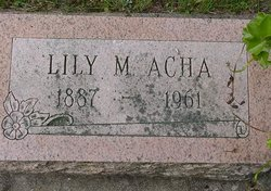 Lily May <i>Hagerman</i> Acha