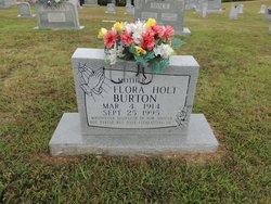 Flora <i>Holt</i> Burton
