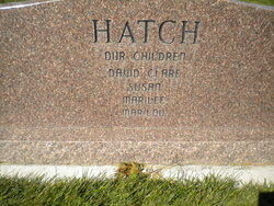 Barbara Joan <i>Budge</i> Hatch