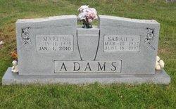 Sarah V. <i>Wallis</i> Adams