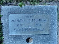 Albertha Lam Admiral