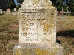 John Henry Schulte