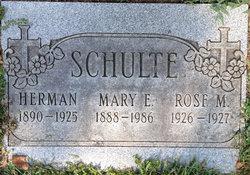 Rose Marie Schulte