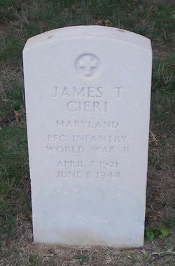 PFC James T Cieri