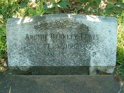 Archie Berkley Lewis