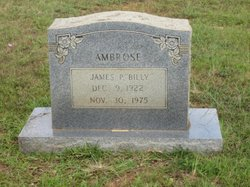 James P. Billy Ambrose