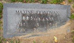 Maxine <i>Donovan</i> Cormnany