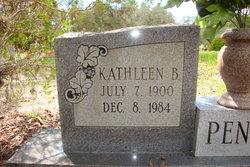 Kathleen B Penrose