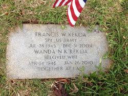 Francis W Kekoa