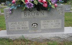 Jane Ellen <i>Craig</i> Brown