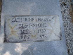 Catherine <i>Harvey</i> Blackstone