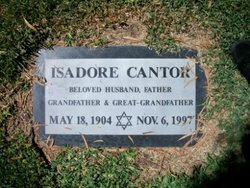 Isadore Cantor