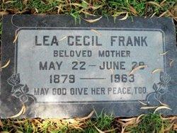 Lea Cecil Frank