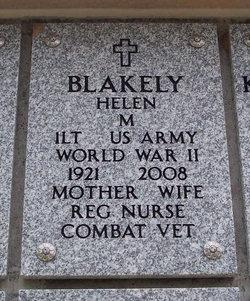 Helen M Blakely