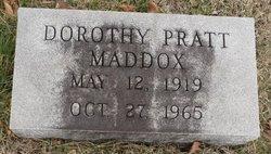 Dorothy <i>Platt</i> Maddox