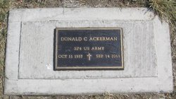Donald Charles Ackerman