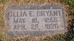 Celia E <i>Galyean</i> Bryant
