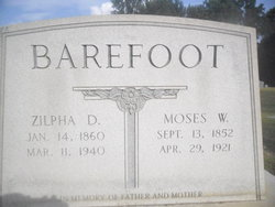 Zilpha Draughon <i>Jernigan</i> Barefoot