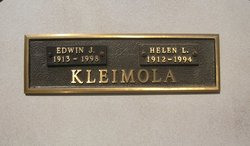 Helen L <i>Engebretson</i> Kleimola