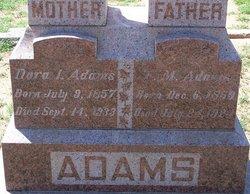 Isadora Icy Dora <i>Freeman</i> Adams