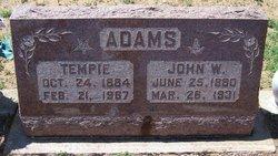 Tempie <i>Massey</i> Adams