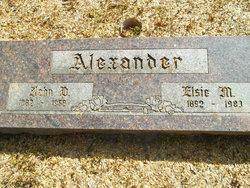 Elsie M. <i>Brauer</i> Alexander