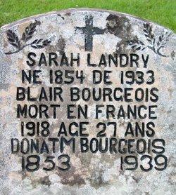 Sara <i>Landry</i> Bourgeois