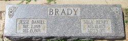 Sola Ellen <i>Henry</i> Brady